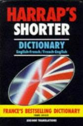 Harrap's shorter french and english dictionary par Harrap's