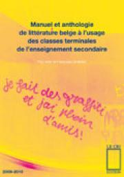 Manuel et anthologie de litt�rature belge � l�usage des classes terminales de l�enseignement secondaire par Aron