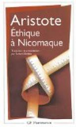 Ethique de Nicomaque (traduction de Jean Voilquin) par Aristote